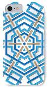 Abstract Hexagonal Shape IPhone Case