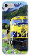 Alaska Railroad IPhone Case