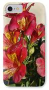 Alstroemeria In Pastel IPhone Case