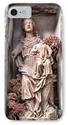 Antique Blessed Virgin Statue IPhone Case