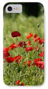 Beautiful Poppies 3 IPhone Case