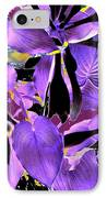 Beware The Midnight Garden IPhone Case