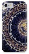 Blue Clockwork IPhone Case