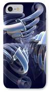 Blue Pipes IPhone Case