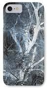 Blue Snow IPhone Case