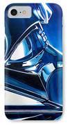 Blue Vader IPhone Case