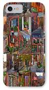 Boston Tourism Collage IPhone Case