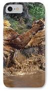 Boxing Bengal Tigers Wildlife Rescue IPhone Case