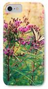 Butterfly Wildflower IPhone Case