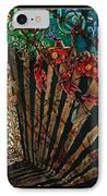 Cajun Accordian - Bordered IPhone Case