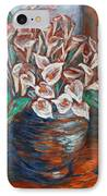 Calla Lilies And Frog IPhone Case