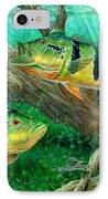 Catching Peacock Bass - Pavon IPhone Case