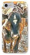 Cattle Round Up IPhone Case