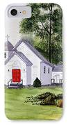 Chapel In The Mounts IPhone Case