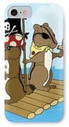 Chipmunk Pirate Dash And Scoot IPhone Case