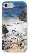 Clear California Cove IPhone Case