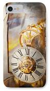Clockmaker - A Look Back In Time IPhone Case