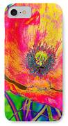 Colorful Poppy IPhone Case
