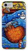 Conga On Fire IPhone Case