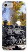Cumbres And Toltec Railroad IPhone Case