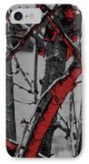 Dark Branches IPhone Case