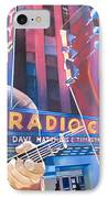 Dave Matthews And Tim Reynolds At Radio City IPhone Case