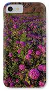 Desert Sand Verbena Wildflowers IPhone Case