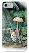 Fairy Shower IPhone Case