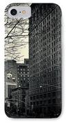 Flat Iron Building Fifth Avenue And Broadway IPhone Case