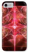 Fractal - Abstract - The Essecence Of Simplicity IPhone Case