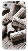 French Wine Corks IPhone Case