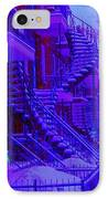 Frost On  Winding Staircases IPhone Case