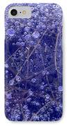 Frozen Bubbles In The Merced River Yellowstone Natioinal Park IPhone Case