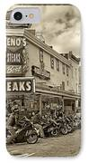 Geno's With Cycles IPhone Case