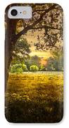 Golden Pastures IPhone Case