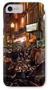 Hanover Street Nights - Boston IPhone Case