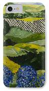 Hydrangea Valley IPhone Case