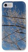 Ice Storm Branches IPhone Case