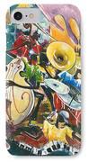 Jazz No. 4 IPhone Case
