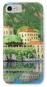 Lake Como Morning IPhone Case