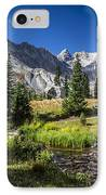Lake Isbelle Mountains IPhone Case