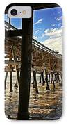 Lowtide At The Pier IPhone Case