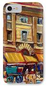 Marche Bonsecours Old Montreal IPhone Case