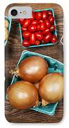 Market Fruits And Vegetables IPhone Case
