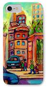 Mcgill University Roddick Gates Montreal IPhone Case