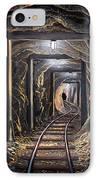 Mine Shaft Mural IPhone Case