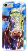 Moooo IPhone Case