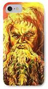 Moses At The Burning Bush IPhone Case