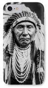 Nez Perce Indian Man Circa 1903 IPhone 8 Case by Aged Pixel