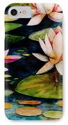 On Lily Pond IPhone Case